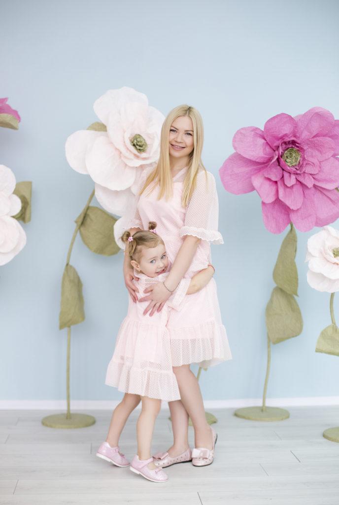Мама и дочка Flowers